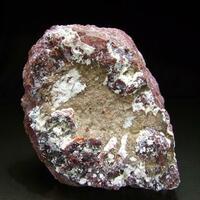 Native Silver On Kaolinite