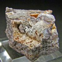 Phlogopite On Tridymite