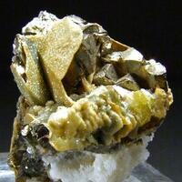 Pyrite Arsenopyrite & Calcite