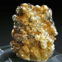 Pyrite & Siderite On Quartz