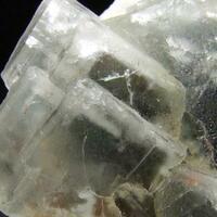 Quartz On Fluorite