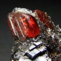 Rhodonite In Sphalerite & Galena