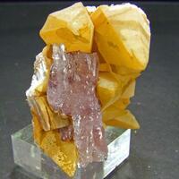 Aragonite On Calcite