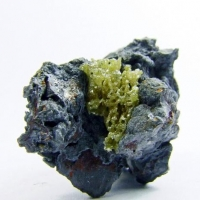 Bromian Chlorargyrite On Coronadite