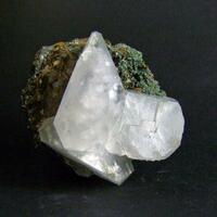Calcite On Pyrrhotite