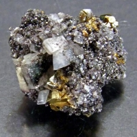 Dolomite Hematite & Chalcopyrite