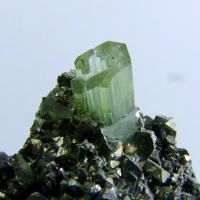 Fluorapatite On Arsenopyrite