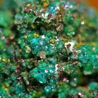 Ktenasite On Native Copper