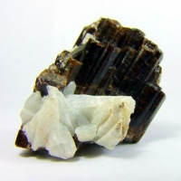 Vesuvianite & Adularia