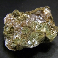 Actinolite In Calcite