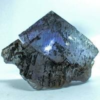 Bitumen On Fluorite
