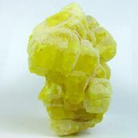 Calcite On Native Sulphur