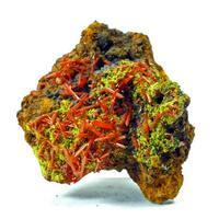 Crocoite & Hinsdalite Psm Pyromorphite