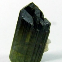 Elbaite On Albite