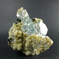 Ferberite & Fluorite With Muscovite