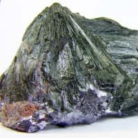 Ferro-actinolite In Galena