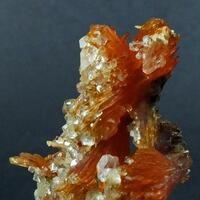 Fluorapophyllite On Inesite