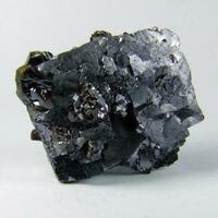 Galena With Sphalerite & Fluorite