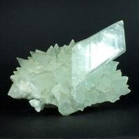 Gypsum On Calcite