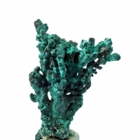 Ktenasite & Paratacamite On Native Copper