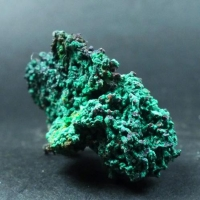 Ktenasite On Native Copper