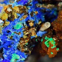Linarite Cuprite Psm & Cerussite