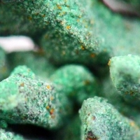 Nantokite & Paratacamite On Native Copper