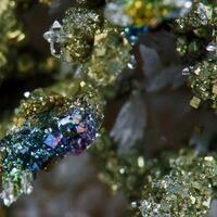 Pyrite Calcite & Quartz