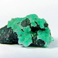 Quartz On Conichalcite & Chrysocolla