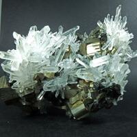 Quartz Var Japan Law On Pyrite & Sphalerite