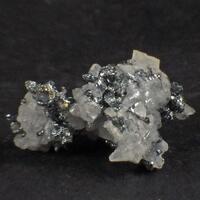 Acanthite In Calcite