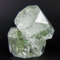 Apophyllite With Chlorite Inclusions