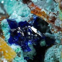 Aurichalcite & Azurite