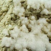 Calcite On Carbonate-rich Fluorapatite
