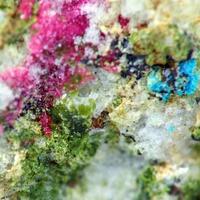 Cobaltaustinite Smolyaninovite & Lavendulan