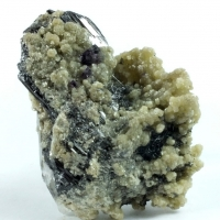 Ferberite Boulangerite & Fluorite