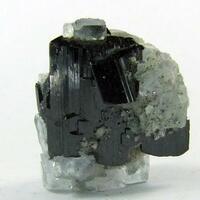 Ferberite On Fluorite