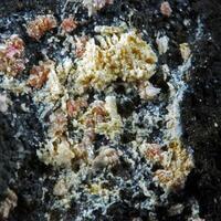 Ferroan Variscite With Montgomeryite