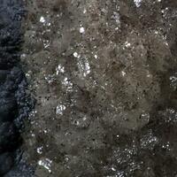 Gibbsite On Cryptomelane