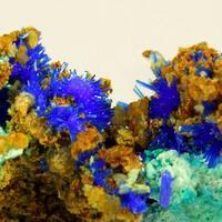Linarite Aurichalcite & Schulenbergite