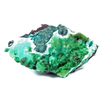 Malachite & Chrysocolla On Pseudomalachite