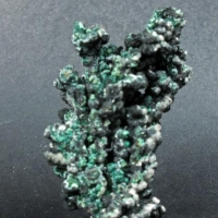 Paratacamite & Tenorite On Native Copper
