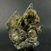 Pyrite & Marcasite On Calcite