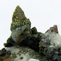 Pyrite On Calcite & Galena