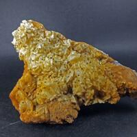 Pyrite On Siderite