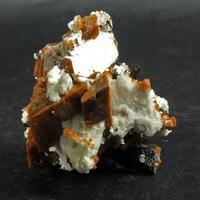 Rhabdophane-(Ce) Albite Aegirine & Rhodochrosite