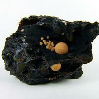 Rhodochrosite On Coronadite
