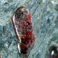Rhodonite In Galena & Sphalerite