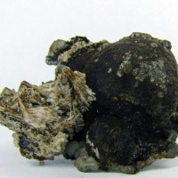 Sturtite On Kutnohorite & Calcite
