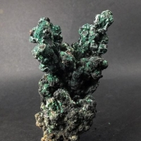Tenorite & Paratacamite On Native Copper